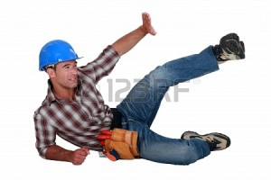 19846595-construction-worker-in-an-accident